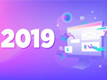 Портфолио веб-студии 2019 год
