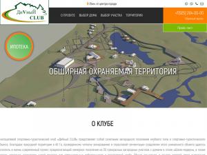 Создание сайта «ДиVный CLUB»